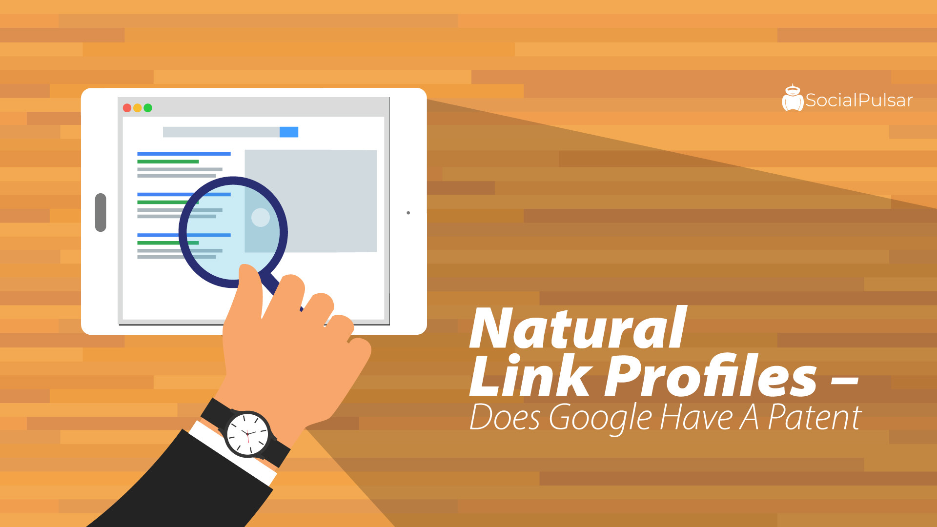 Natural Link Profiles – Does Google Have A Patent