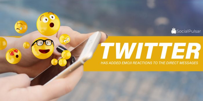 Twitter Has Added Emoji Reactions To The Direct Messages