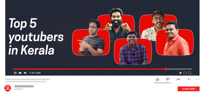 Top 5 YouTubers in Kerala