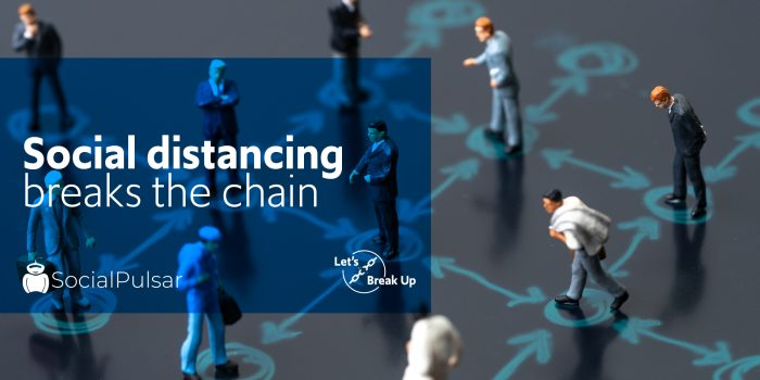 Social Distancing Breaks the Chain