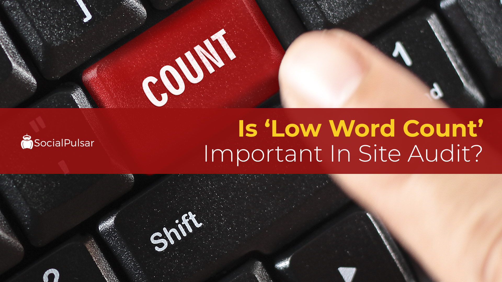 Is 'Low Word Count' Important in Site Audit?