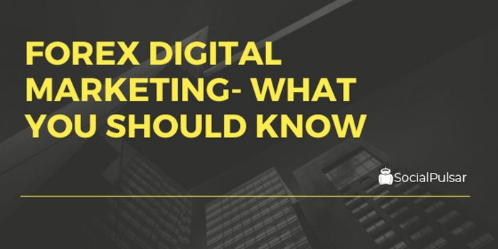 Forex Digital Marketing Strategies – What You Should Know